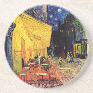 Van Gogh Cafe Terrace At Night Drink Coaster
