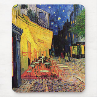 Van Gogh Cafe Terrace At Night Mouse Mat