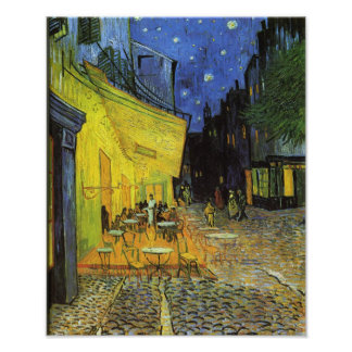 Van Gogh; Cafe Terrace at Night Photo Print