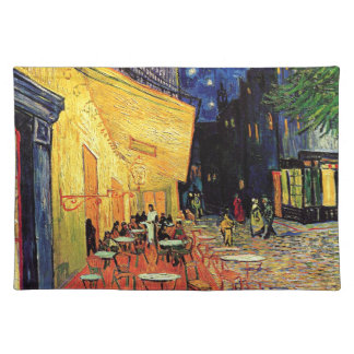 Van Gogh Cafe Terrace At Night Placemat