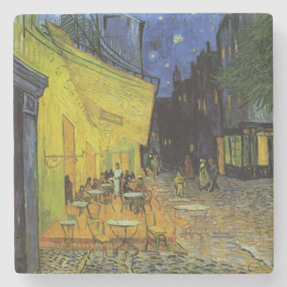 Van Gogh; Cafe Terrace at Night Stone Coaster