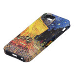 Van Gogh, Cafe Terrace at Night, Vintage Fine Art iPhone 5 Cases