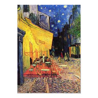 Van Gogh, Cafe Terrace at Night, Vintage Fine Art Custom Invitations