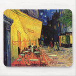 Van Gogh; Cafe Terrace at Night, Vintage Fine Art Mousepads