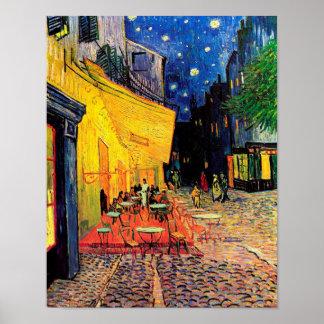 Van Gogh Cafe Terrace (F467) Vintage Fine Art Print