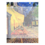 Van Gogh Cafe Terrace on Place du Forum, Fine Art 21.5 Cm X 28 Cm Flyer