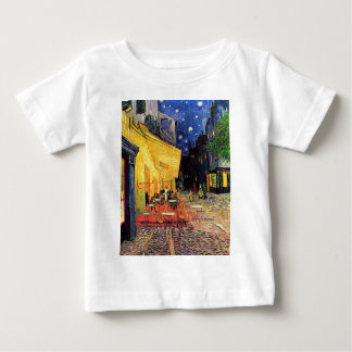 Van Gogh Cafe Terrace on Place du Forum, Fine Art Baby T-Shirt