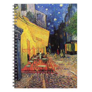Van Gogh Cafe Terrace on Place du Forum, Fine Art Note Book