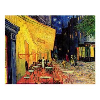 Van Gogh Cafe Terrace on Place du Forum, Fine Art Postcard