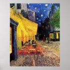 Van Gogh Cafe Terrace on Place du Forum, Fine Art Poster