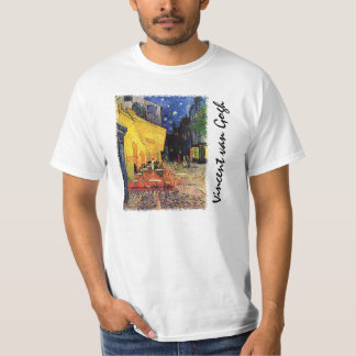 Van Gogh Cafe Terrace on Place du Forum, Fine Art T-Shirt