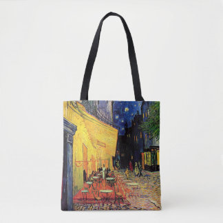 Van Gogh Cafe Terrace on Place du Forum, Fine Art Tote Bag