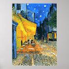 Van Gogh - Cafe Terrace Poster