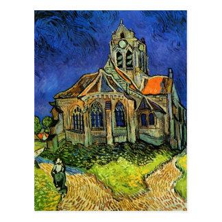 Van Gogh Church at Auvers F789 Fine Art Postcards