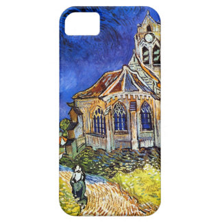 Van Gogh Church At Auvers iPhone 5 Cases