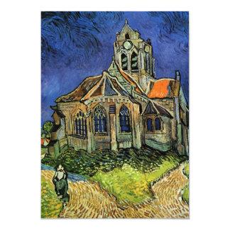 Van Gogh Church at Auvers, Vintage Architecture Card