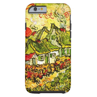 Van Gogh Cottages Cypresses Reminiscence N (F675) Tough iPhone 6 Case