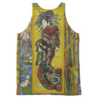 Van Gogh Courtesan after Eisen All-Over Print Tank Top