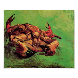 Van Gogh - Crab On Its Back Posters