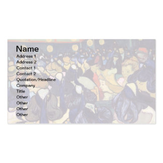 Van Gogh - Dance Hall In Arles Pack Of Standard Business Cards
