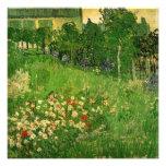 Van Gogh; Daubigny's Garden, Le Jardin de Daubigny Invite
