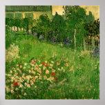 Van Gogh; Daubigny's Garden, Le Jardin de Daubigny Posters