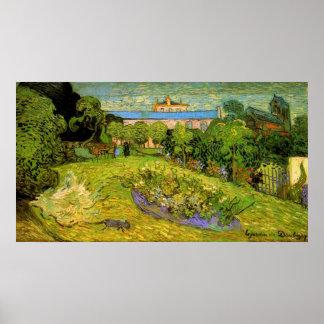 Van Gogh Daubigny's Garden, Le Jardin Fine Art Poster