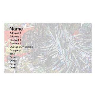 Van Gogh - Doctor Gachets Garden In Auvers Business Card