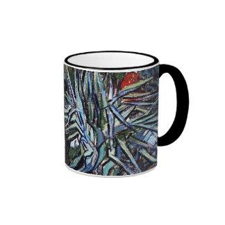 Van Gogh - Doctor Gachets Garden In Auvers Coffee Mugs