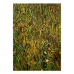 Van Gogh Ears of Wheat Poster