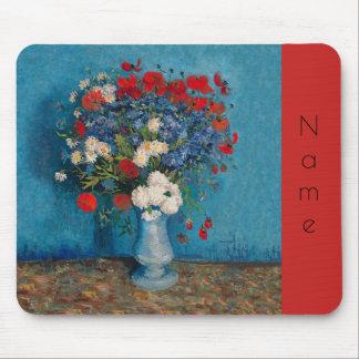 Van Gogh & Elizabeth Flowers - Mouse Mat