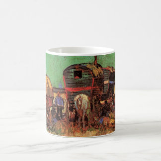 Van Gogh; Encampment of Gypsies with Caravans Coffee Mug