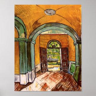 Van Gogh Entrance Hall Saint-Paul Hospital Poster
