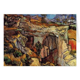 Van Gogh - Entrance To A Quarry Near Saint Remy Cards