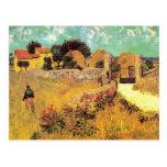 Van Gogh; Farmhouse in Provence, Vintage Farm Postcard
