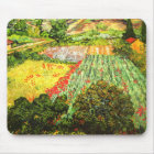 Van Gogh: Field with Poppies Mouse Mat