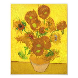 Van Gogh Fifteen Sunflowers In A Vase Fine Art Photograph