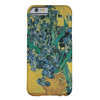 Van Gogh Fine Art Still Life with Irises on Yellow Barely There iPhone 6 Case