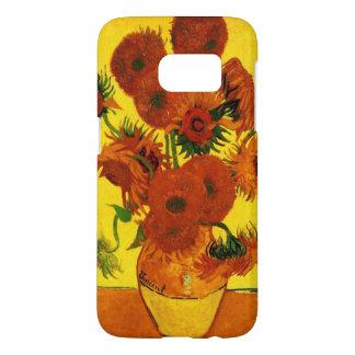 Van Gogh Fine Art, Vase with 15 Sunflowers