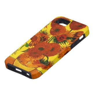 Van Gogh Fine Art, Vase with 15 Sunflowers iPhone 5 Cases