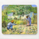 Van Gogh First Steps (after Millet) (F668) Mouse Pad