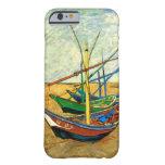 Van Gogh Fishing Boats on Beach at Saintes Maries