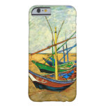 Van Gogh Fishing Boats on Beach at Saintes Maries Barely There iPhone 6 Case