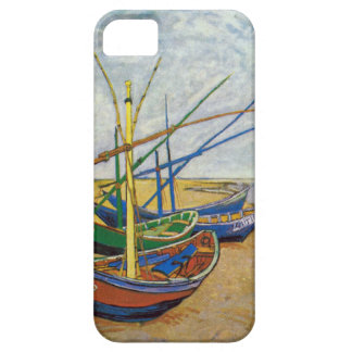 Van Gogh Fishing Boats On The Beach iPhone 5 Covers