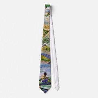 Van Gogh - Fishing In Spring Tie