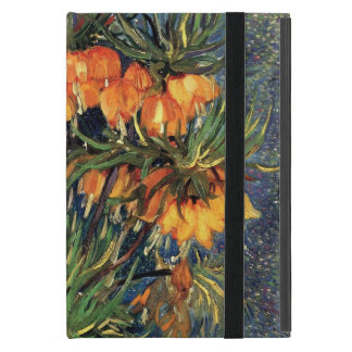 Van Gogh Flower Art, Fritillaries in a Copper Vase Cover For iPad Mini