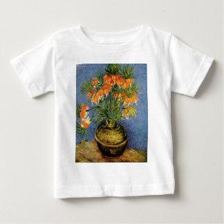 Van Gogh flower painting Baby T-Shirt