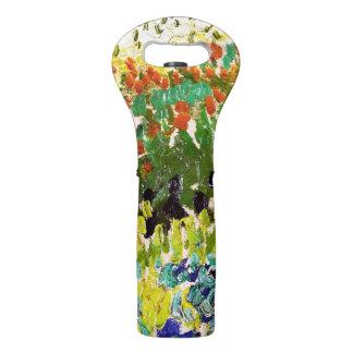 Van Gogh Flowering Garden At Arles Floral Fine Art Wine Bag