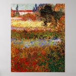 Van Gogh Flowering Garden (F430) Fine Art