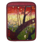 Van Gogh Flowering Plum Tree After Hiroshige iPad Sleeve